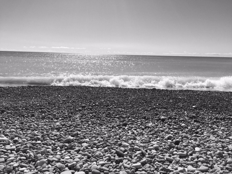 Minimalismus und das Meer